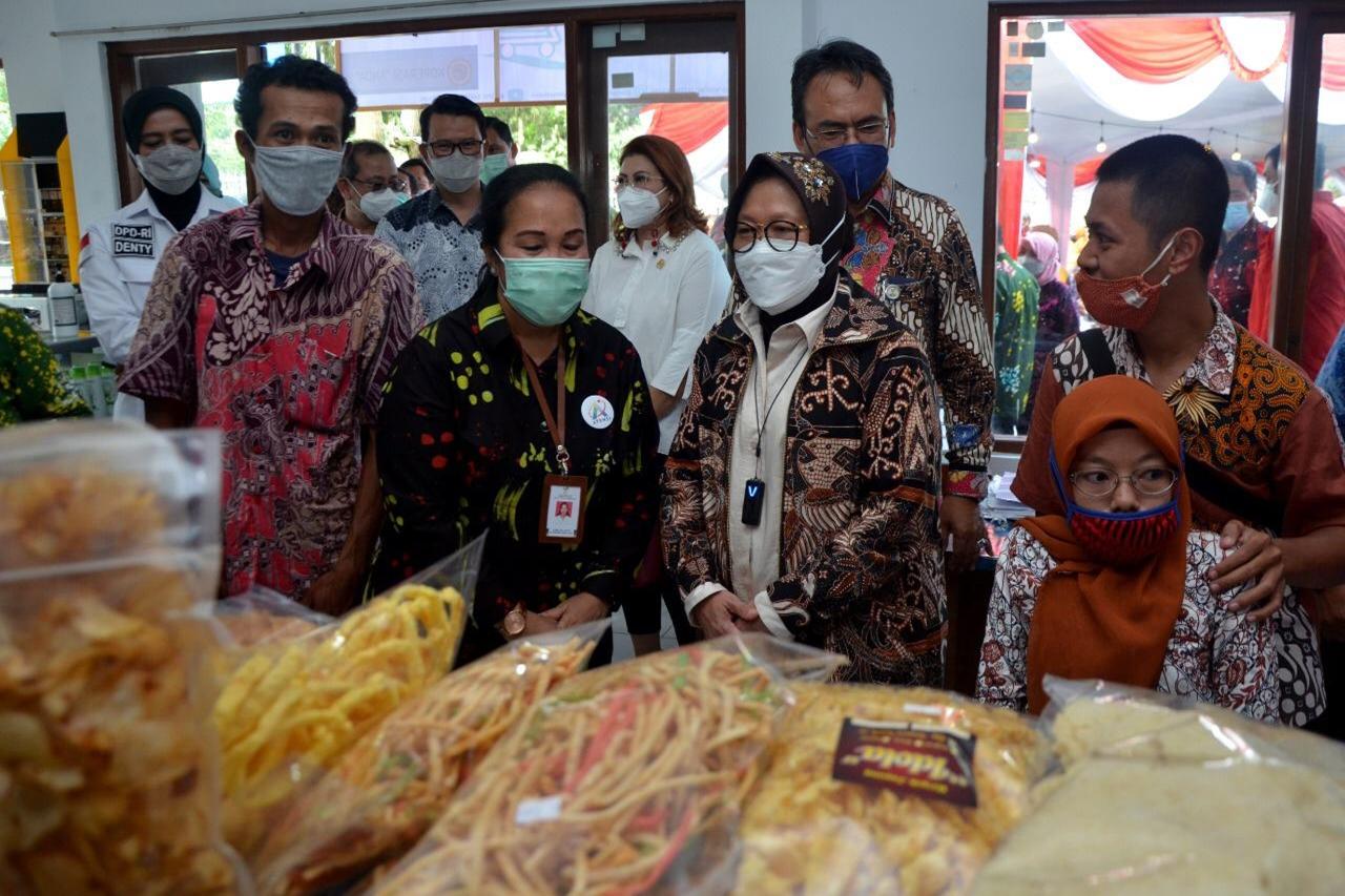 """Mensos Resmikan SKA BBRSPDI """"Kartini"""" Temanggung"""