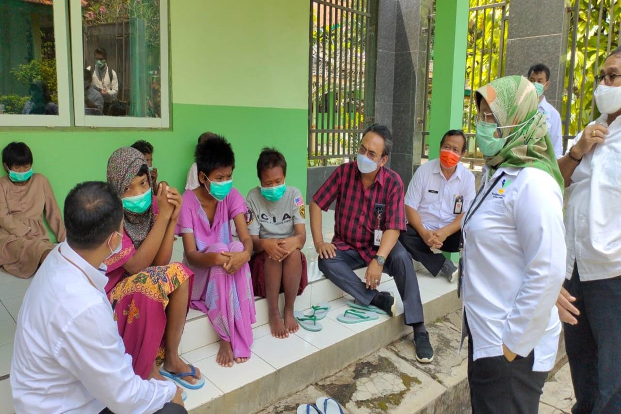 "Dirjen Rehsos  Tinjau Kesiapan Sentra Kreasi ATENSI Balai Besar Disabilitas ""Prof. Dr. Soeharso"" Surakarta"