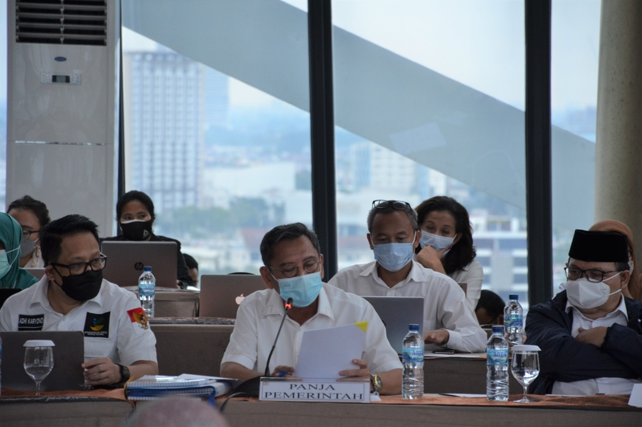 The Government and The House of Representatives Prepare Law on Disaster Management