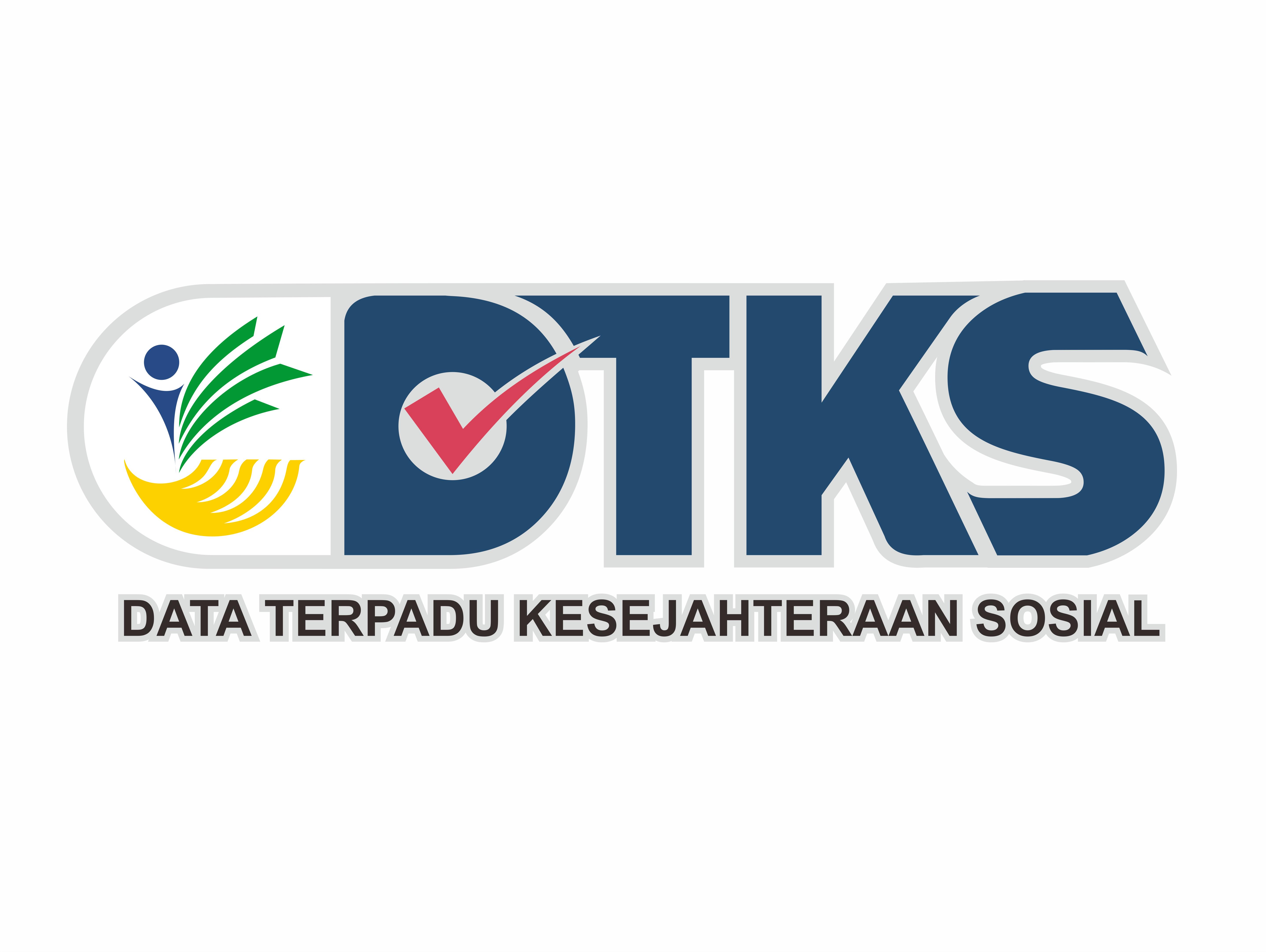 Logo Data Terpadu Kesejahteraan Sosial (DTKS)