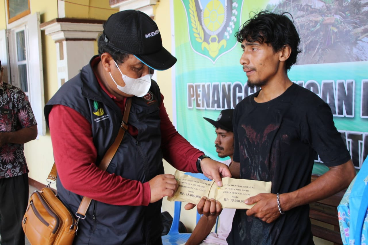 Ministry of Social Affairs Completes Compensation for the Death of Flood Victims in NTT