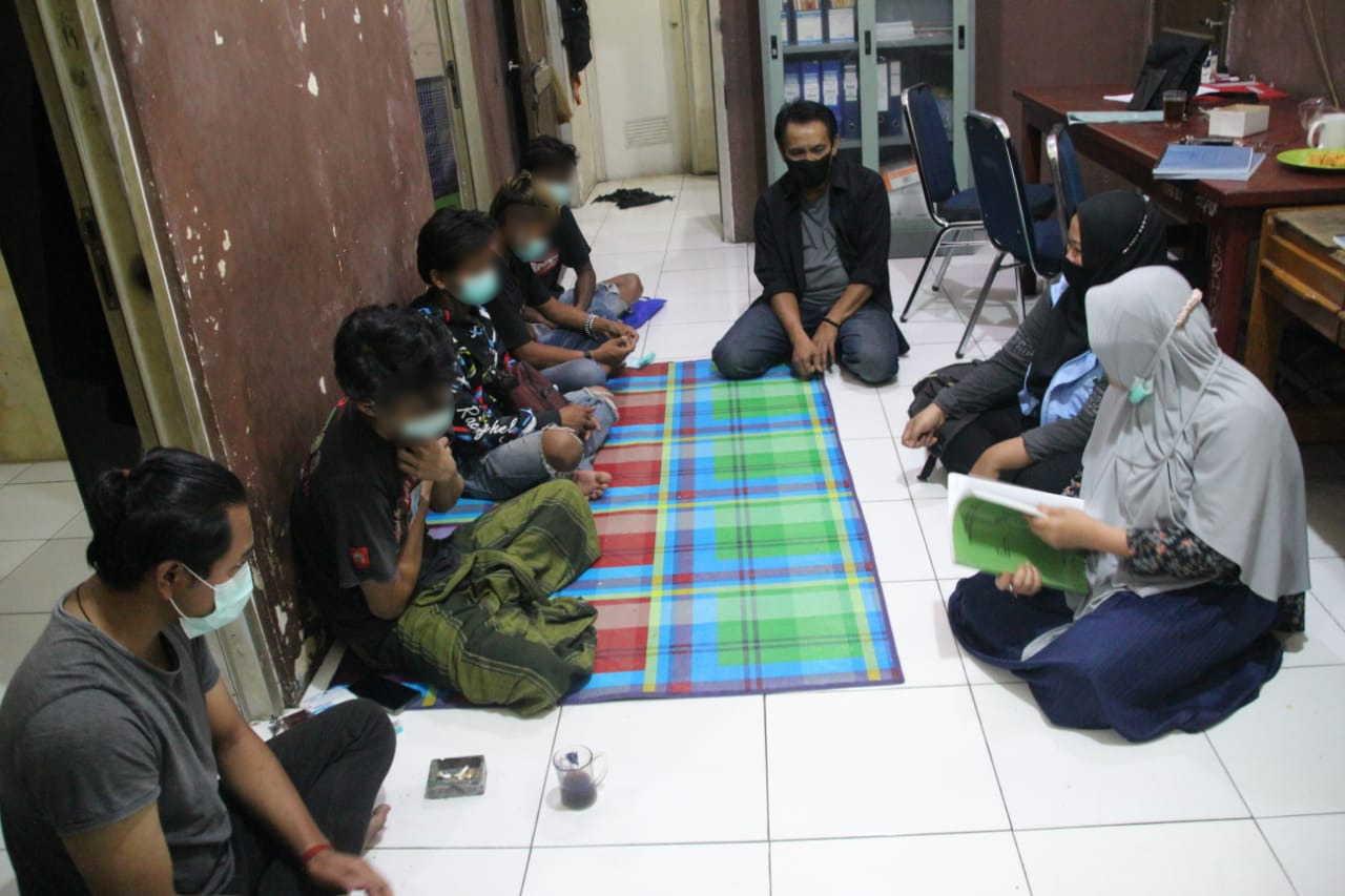"""Galih Pakuan"" Resident Center Rehabilitate Punk Children Who Become Victims of Drug Abuse"