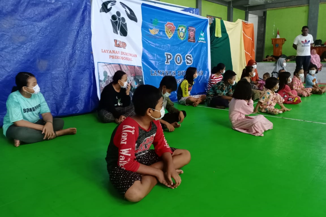 Ministry of Social Affairs Provides LDP for Child Evacuees in NTT