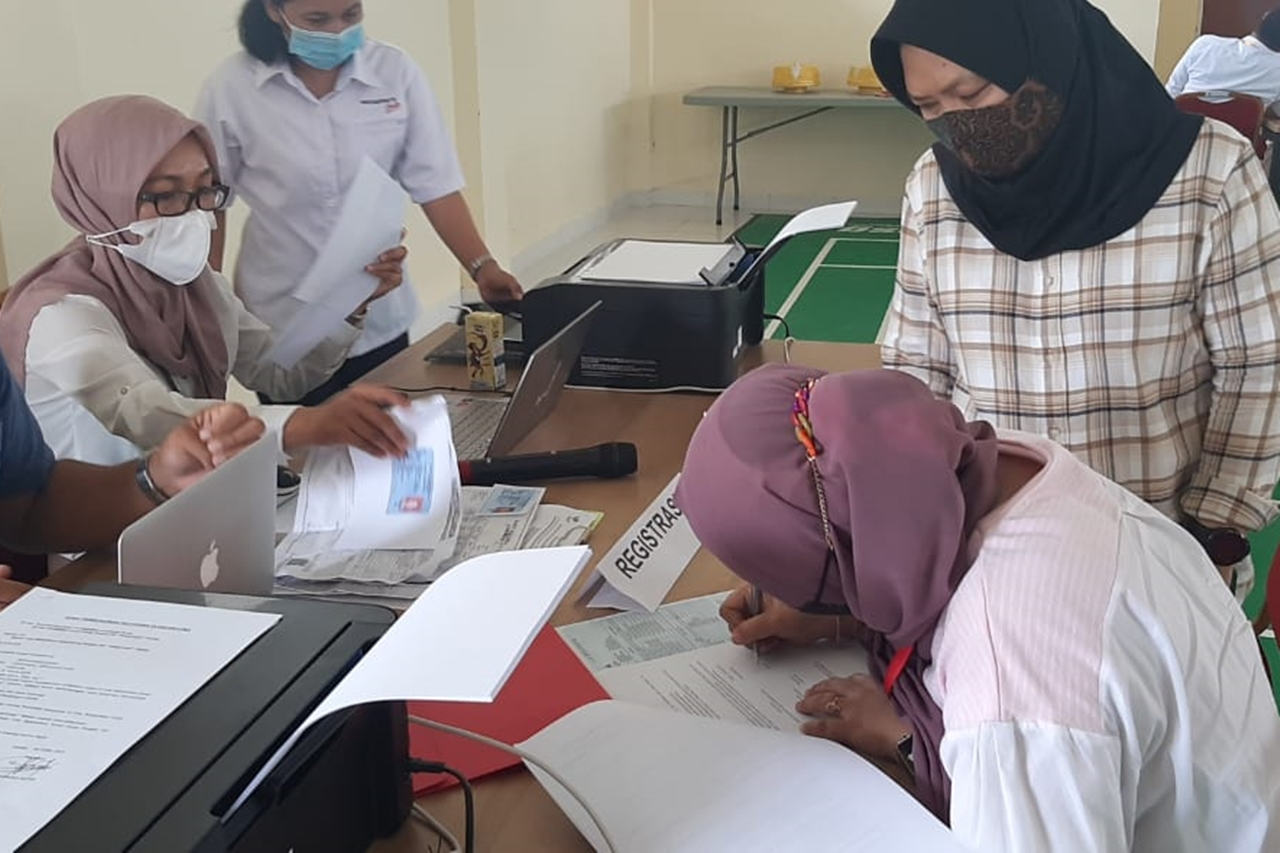 """Pangurangi"" Training Center Receive Referral Beneficiaries of Gaya Celebes Makassar Foundation"