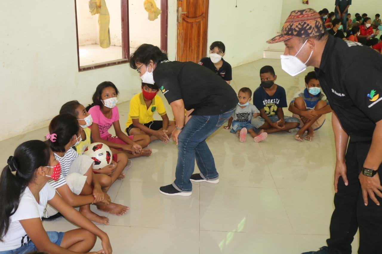 Balai Anak Naibonat di Kupang Beri Layanan Psikososial bagi Anak Korrban Bencana Banjir Bandang di Naibonat NTT