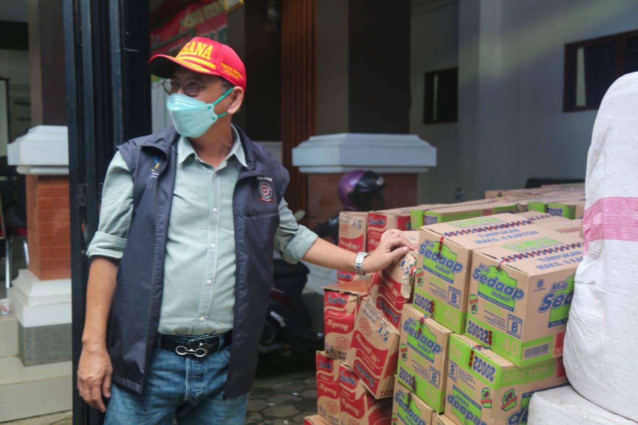 Peninjauan Posko dan Aktivitas Dapur Umum di Kabupaten Malang