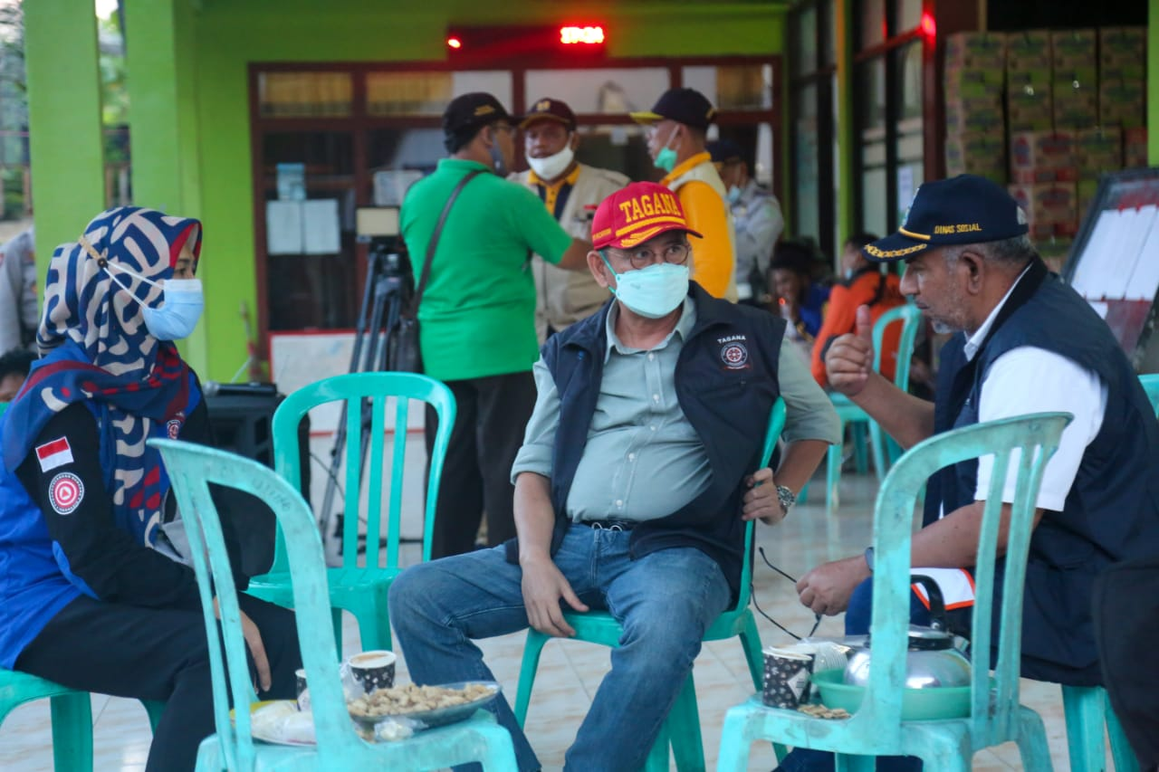 Observation of Posko and Public Kitchen Activities in Lumajang