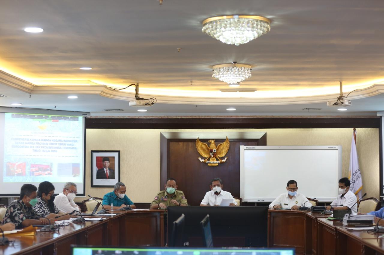 Rapat Pembahasan Langkah Tindak Lanjut Penanganan Eks Timor Timur