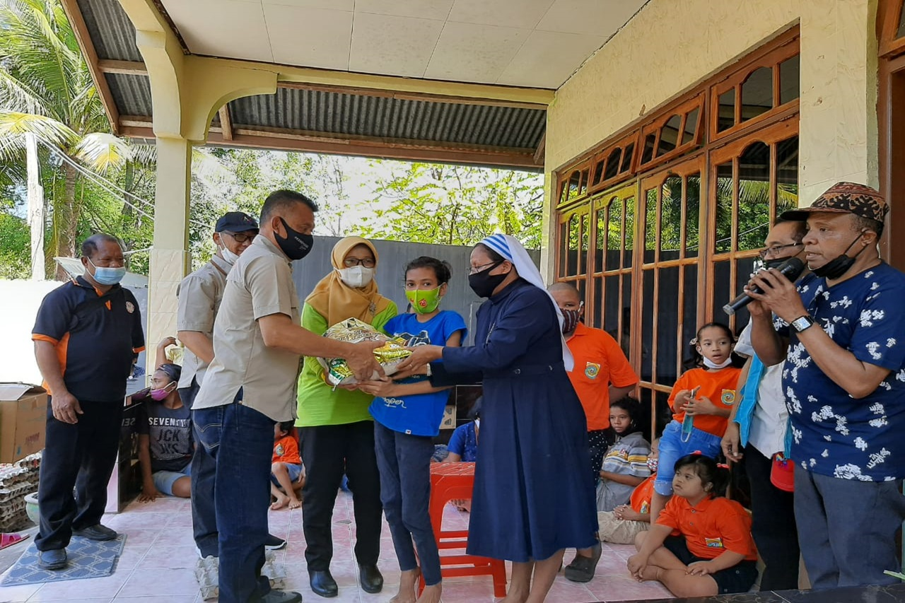 The Ministry of Social Affairs Continues to Recover Disaster Victims in NTT