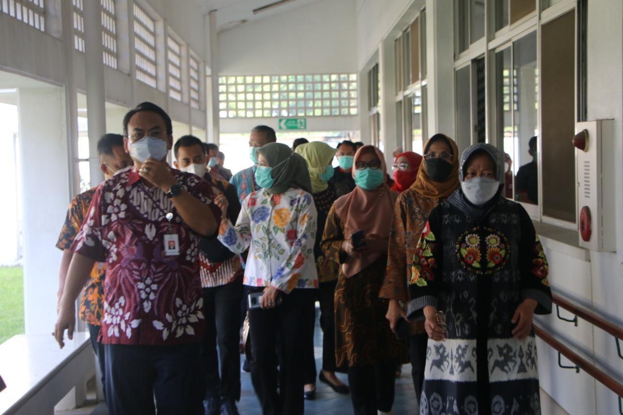 Kunjungi Balai Besar Vokasional Inten Suweno di Bogor,  Mensos Ingin Penerima Kuasai Teknologi Terbaru