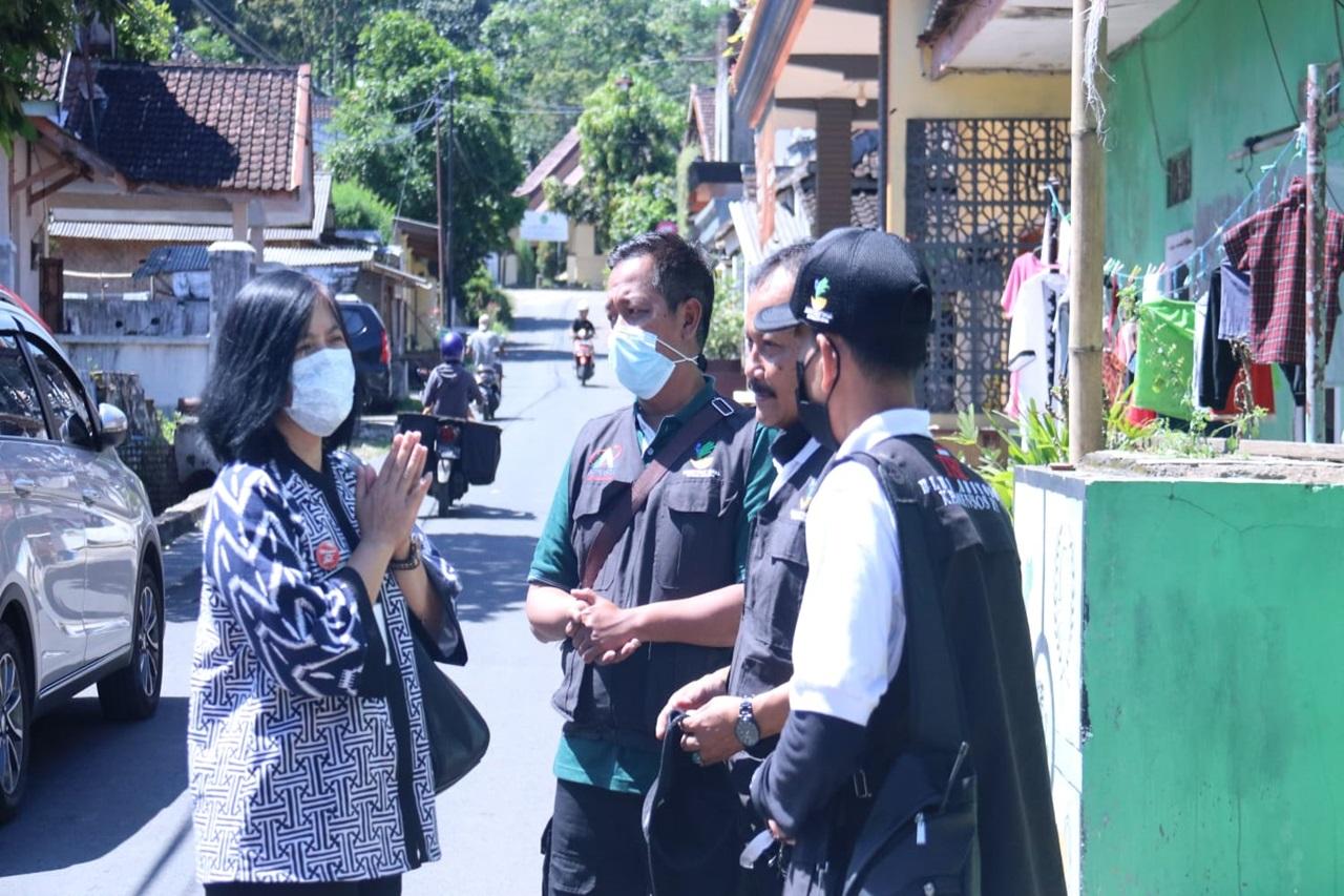 Kemensos Beri Bantuan Bagi Penyintas Gempa Bumi di Kabupaten Malang