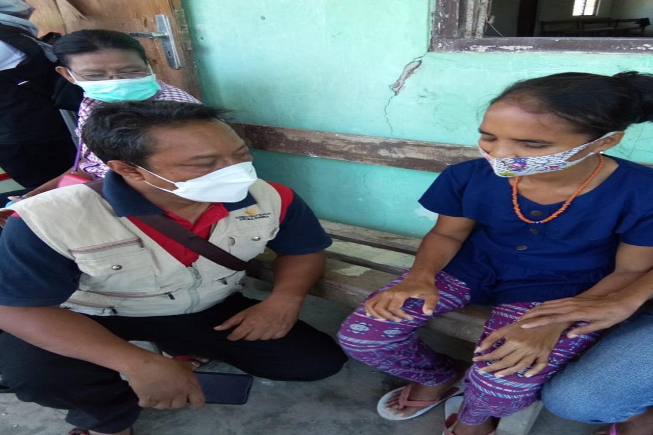 Kemensos Kirim Tim Layanan Dukungan Psikososial ke Lokasi Bencana di Sumba Timur
