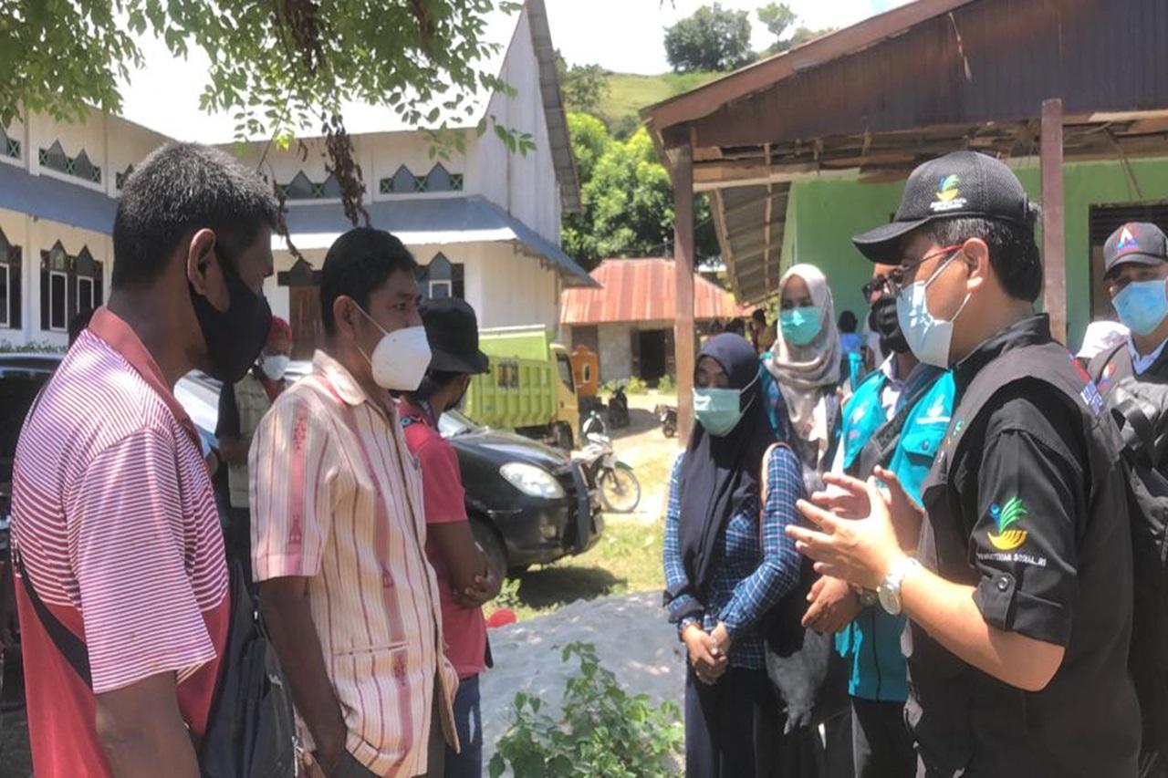 Kemensos Salurkan Kebutuhan Dasar Penyandang Disabilitas Korban Banjir di Sumba Timur