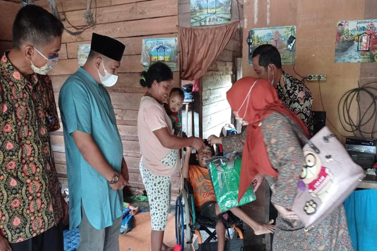 "Children's Center ""Rumbai"" Holds Family Support for Children with Disabilities in Siak"