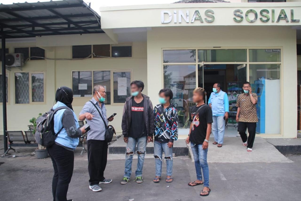 Keren! Komunitas Anak Punk Tasikmalaya Disapa UPT Balai Residen Galih Pakuan