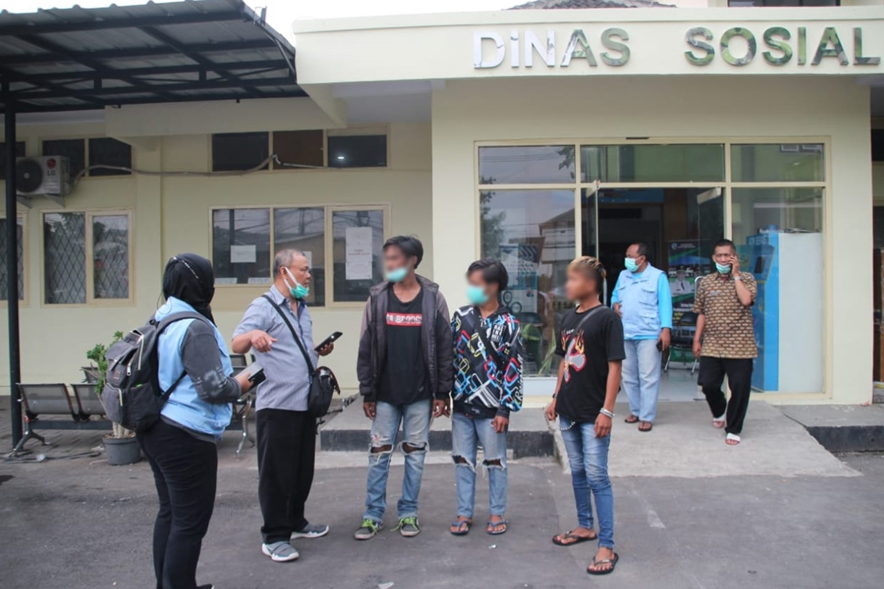 Cool! Tasikmalaya Punk Children Community Addressed by UPT Balai Resident Galih Pakuan