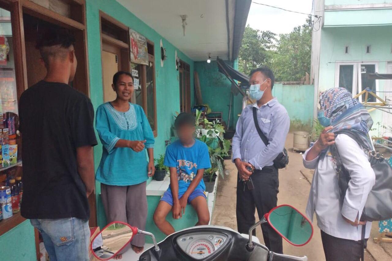 After a Week of Vocational Training at Balai Galih Pakuan Bogor, 3 Punk Children from Tasikmalaya Sent Home