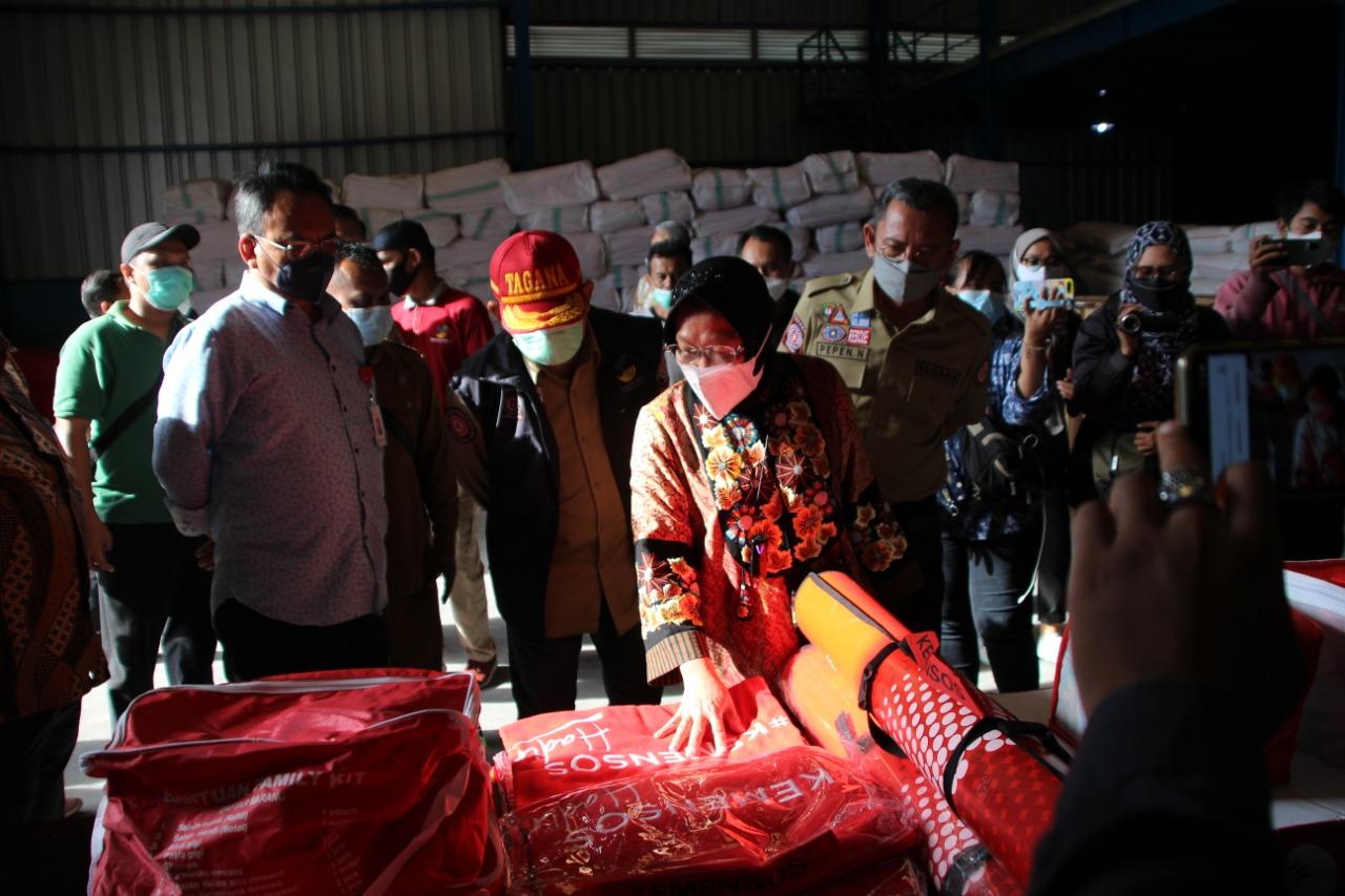 Peninjauan Gudang Logistik Regional Timur di Makassar