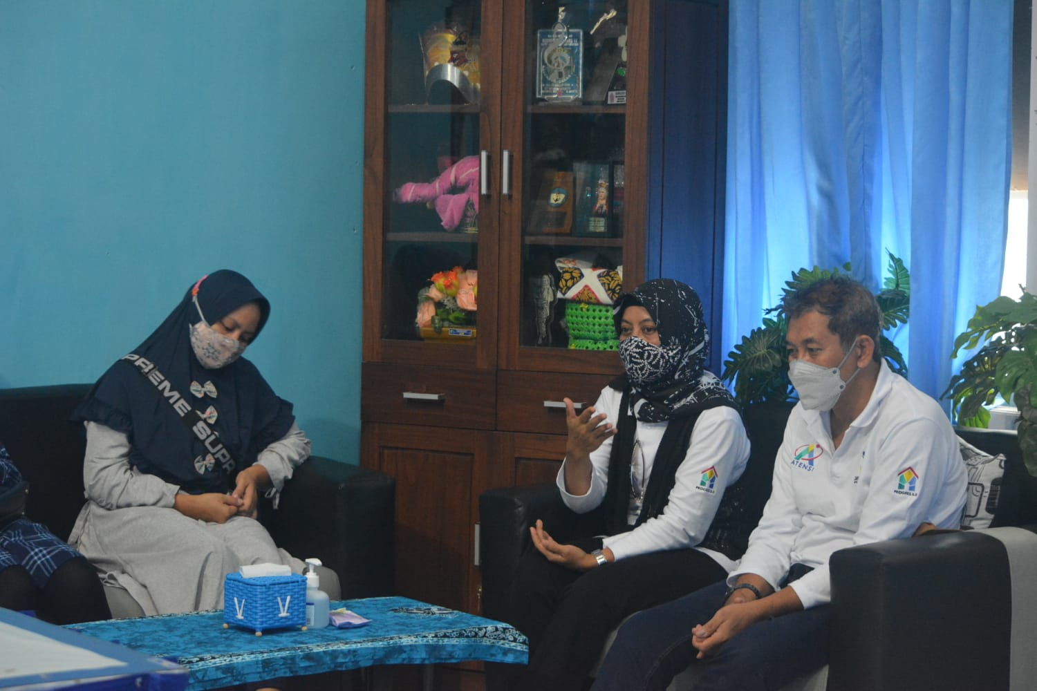 The Ministry of Social Affairs Provides Strengthening and Psychosocial Support for the Families of ABK KRI Nanggala 402