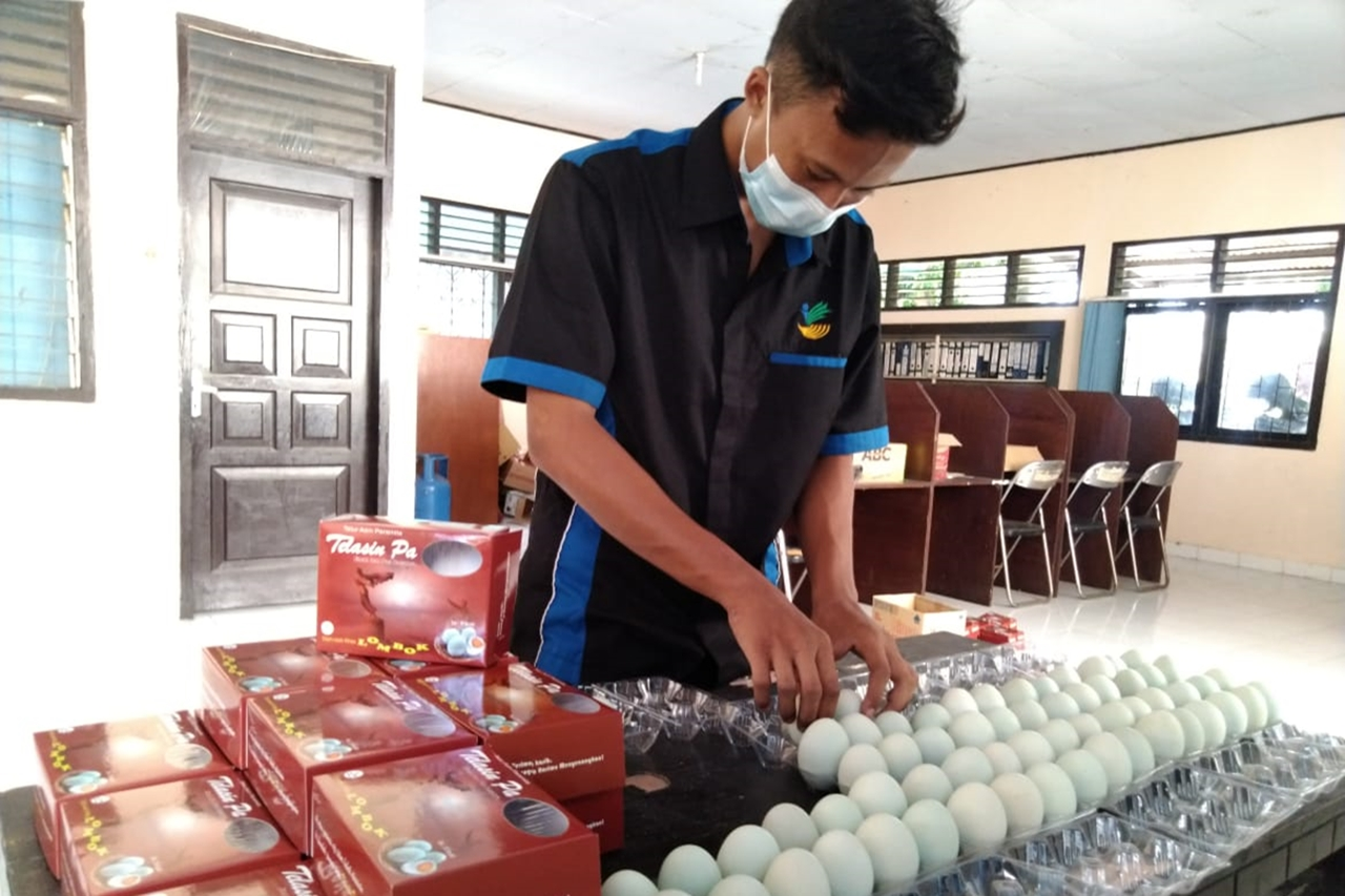 The Demand for ABH Salted Eggs Increases in the Month of Ramadan