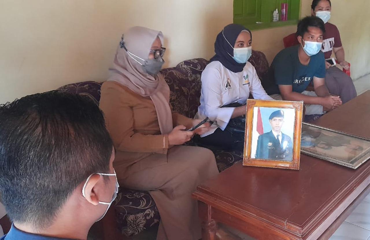 Dukungan Psikososial Keluarga Korban KRI Nanggala 402 di Nganjuk