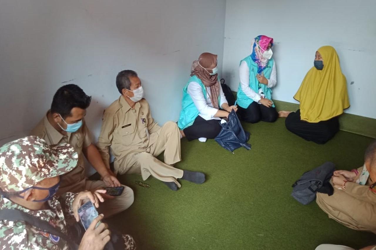 Kemensos Berikan Penguatan dan Dukungan Moral pada Keluarga ABK KRI Nanggala 402