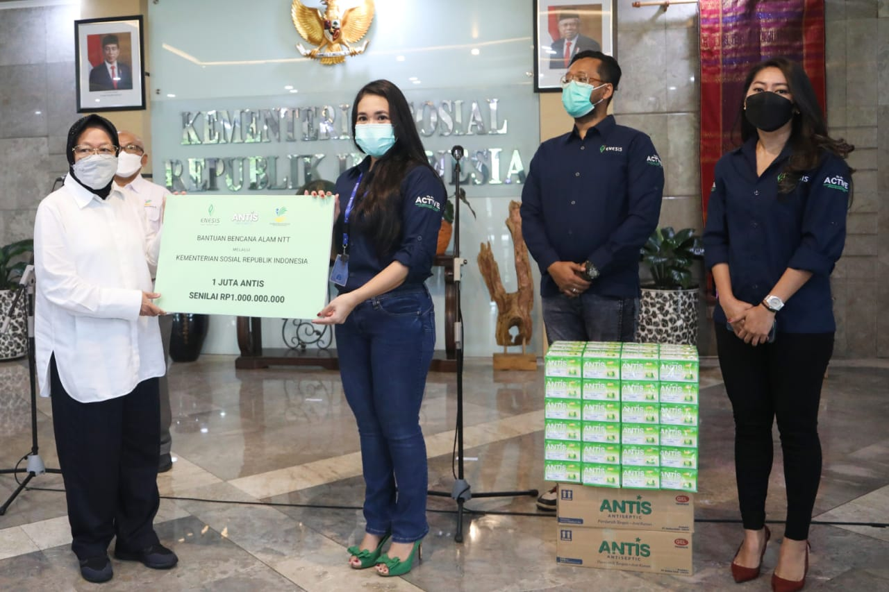 Kementerian Sosial Terima Bantuan 1 Juta Antis