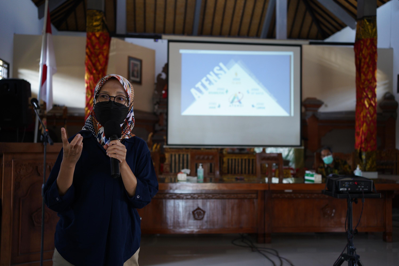 Sosialisasi ATENSI, Kanya Eka Santi: Semua Balai Wajib Layanan Multifungsi