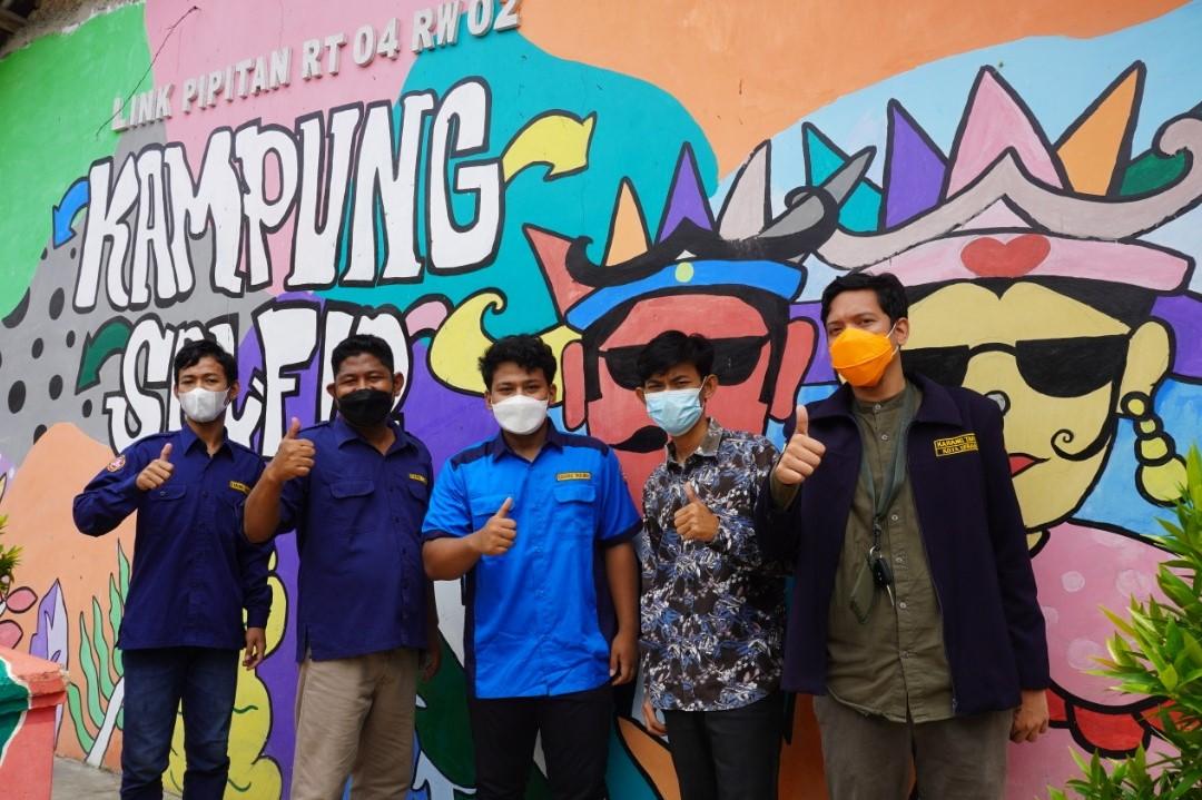 Karang Taruna Pipitan Sukses Ubah Lingkungan Kumuh Jadi Kampung Wisata Tematik