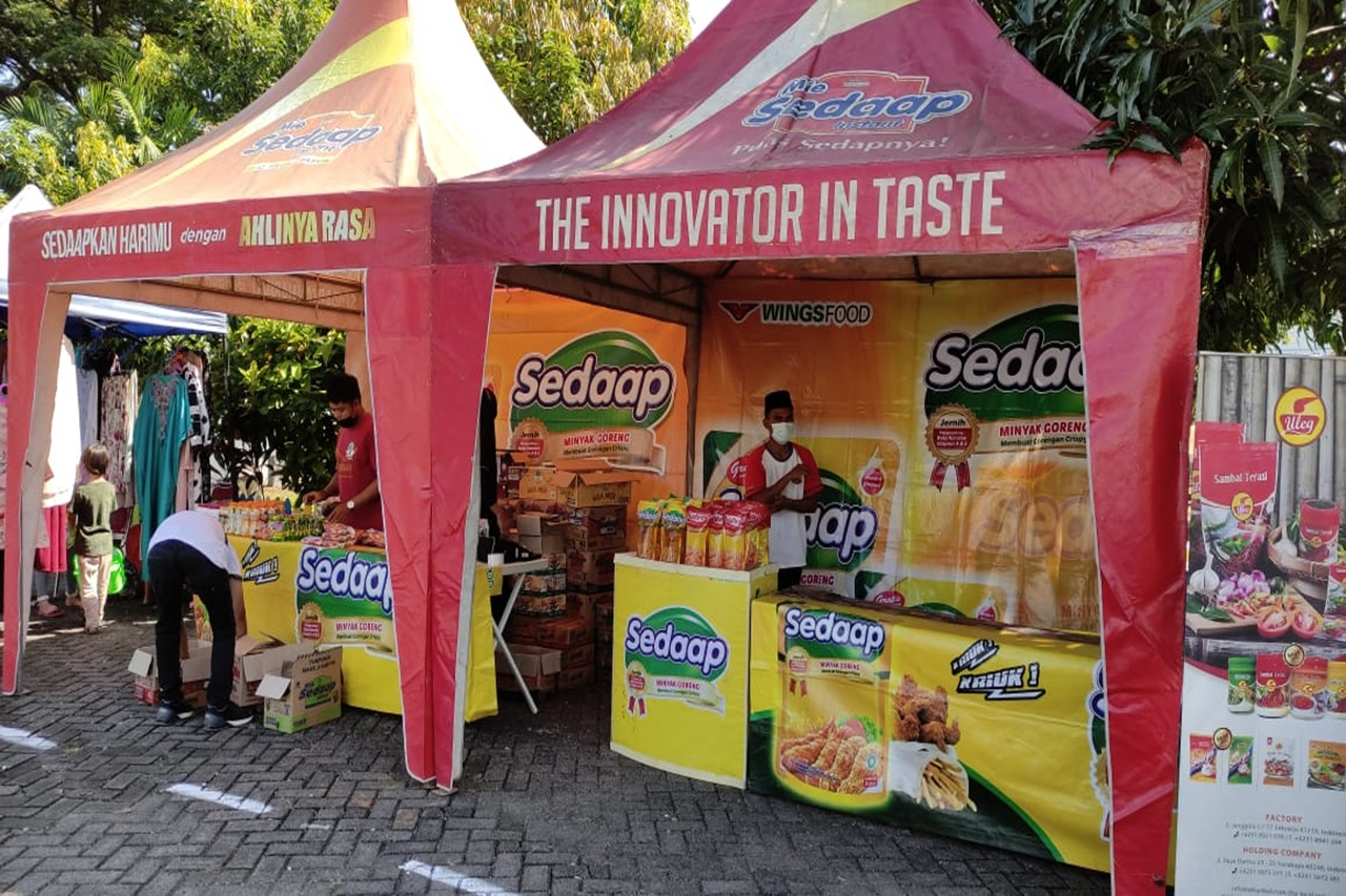 Jelang Lebaran, Balai Anak Toddopuli Makassar Gelar Bazar Ramadhan