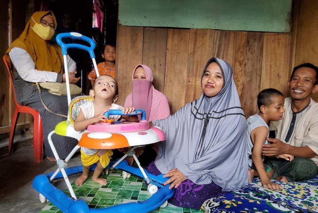 """Terima Laporan dari Masyarakat, Balai Disabilitas """"Nipotowe"""" di Palu Respon Cepat Kasus Disabilitas di Parimo"""