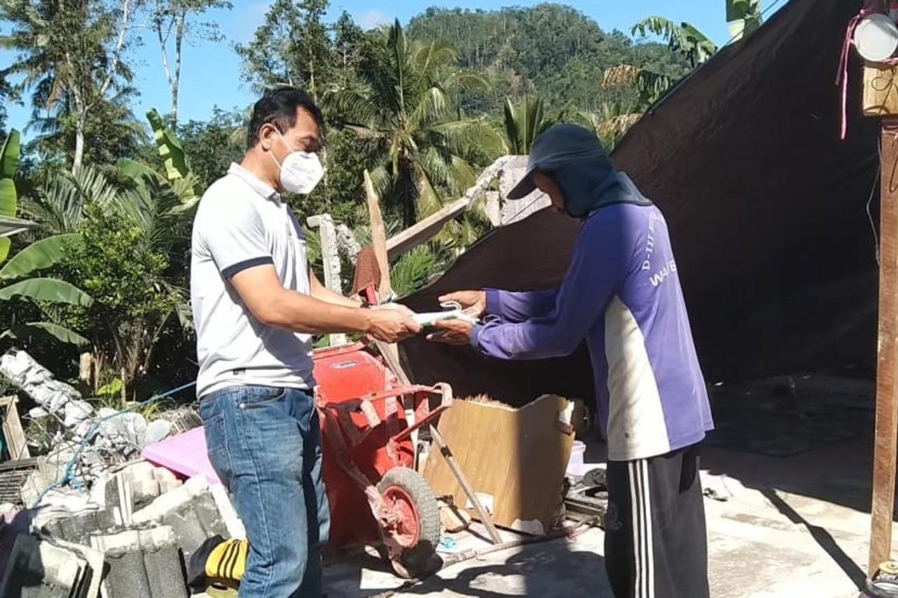 Kemensos Beri Bantuan dan Dukungan Psikososial Bagi Korban Gempa Bumi Lumajang