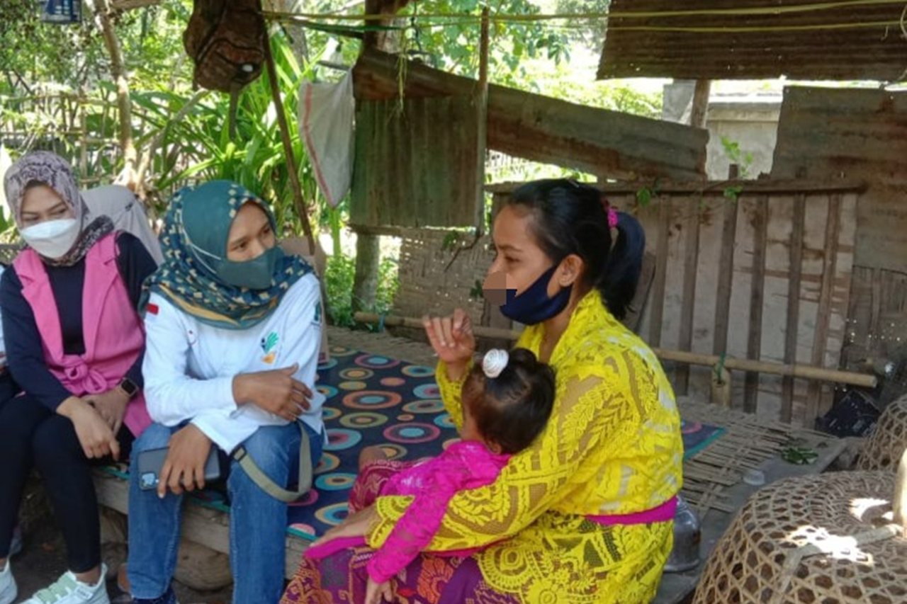 Kemensos Jangkau Anak dengan Tangan dan Kaki Lemah Korban Gempa 2018