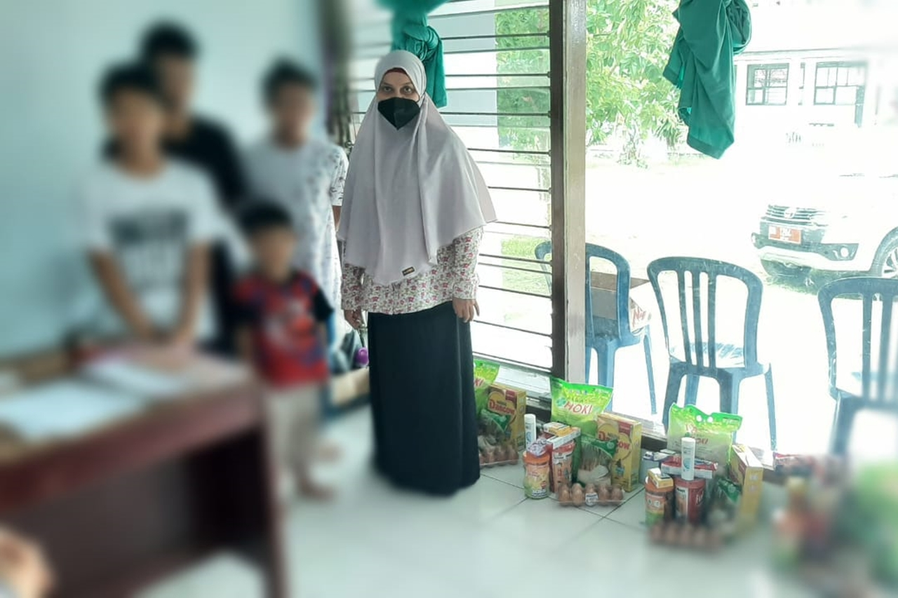"""Children's Center """"Toddopuli"""" Conducts Assessment of the Children of the Palu City Orphanage"""