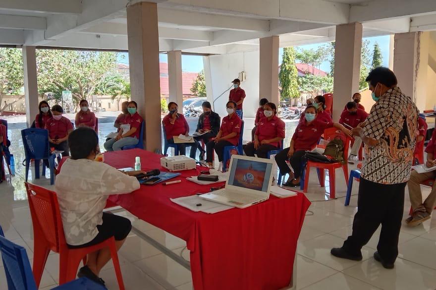 SDM PKH Kota Kupang Dilatih Penanggulangan TBC