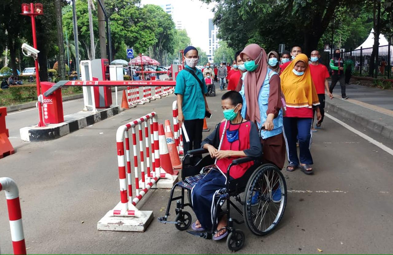 Fasilitasi Akses Vaksinasi Bagi Penyandang Disabilitas