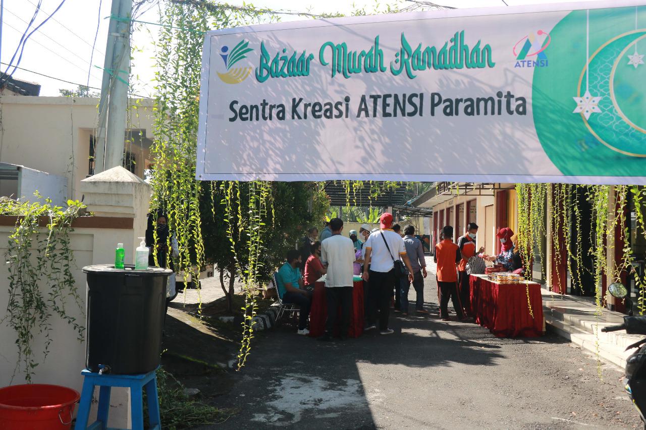 """Balai """"Paramita"""" Milik Kemensos Gelar Bazaar Murah Ramadhan"""