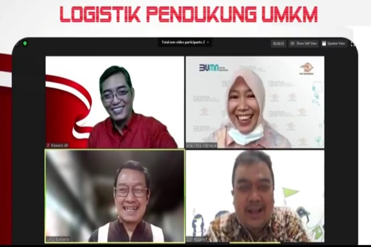 Kemensos Gandeng PT. Pos Indonesia Dukung Pertumbuhan Bisnis UMKM