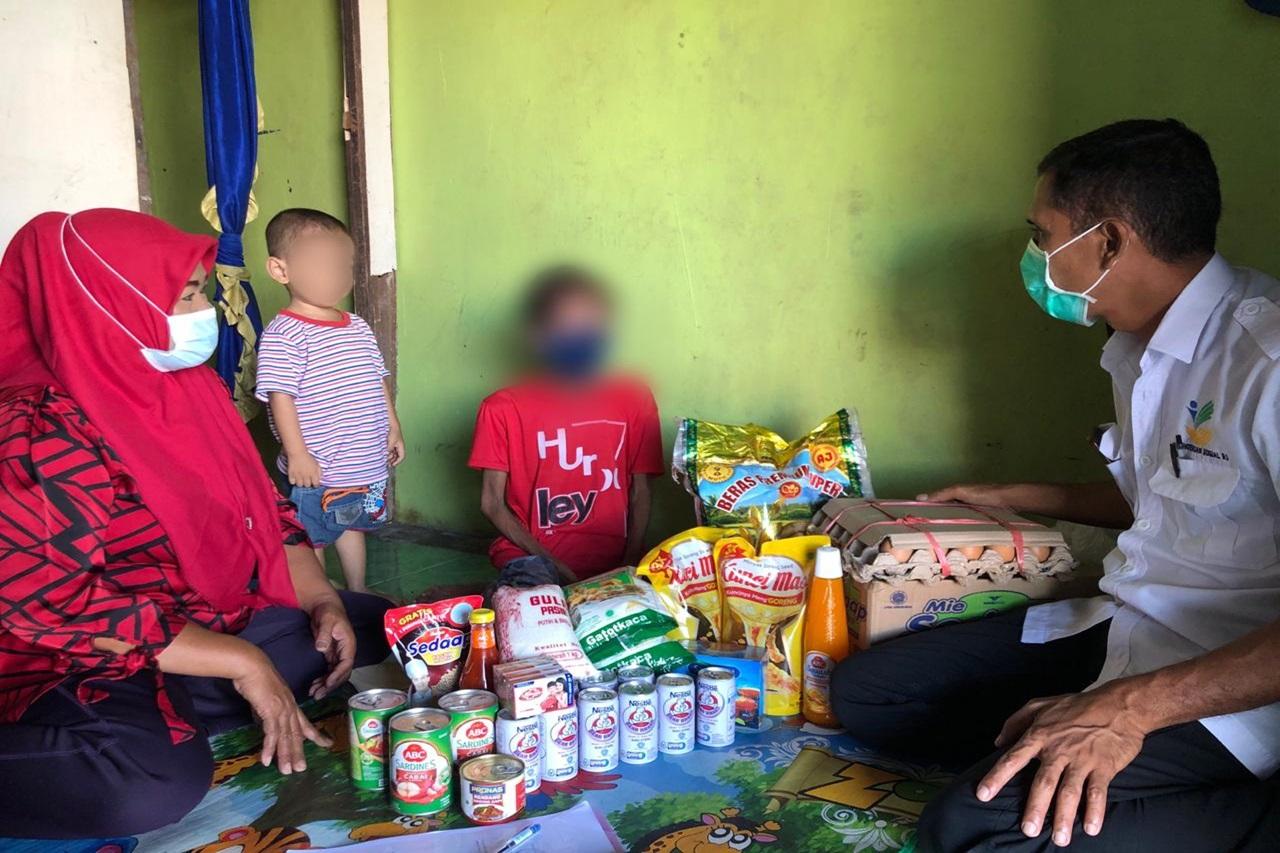 Kemensos Tangani Orang dengan HIV yang Mengalami Gizi Buruk di Kabupaten Gowa