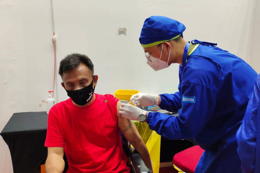 Sukseskan Vaksinasi Nasional, Balai Melati Dampingi Penyandang Disabilitas di 3 Panti Sosial Ikuti Vaksinasi Covid-19