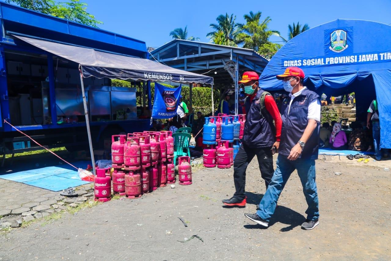 Penyerahan Santunan Ahli Waris bagi Keluarga Korban Gempa Lumajang