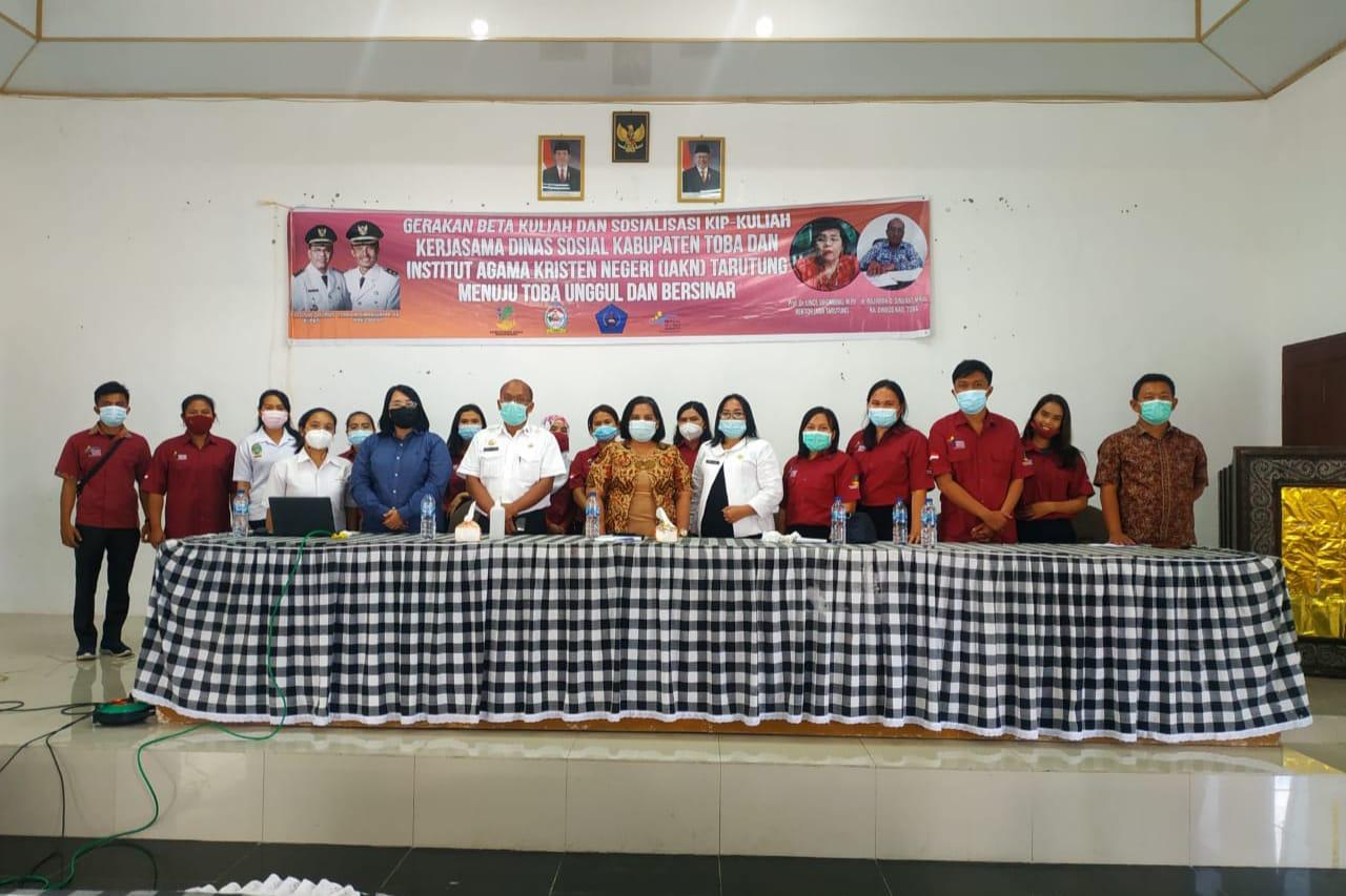 Sembilan Anak KPM PKH Toba Lulus Seleksi Nasional PTKKN 2021