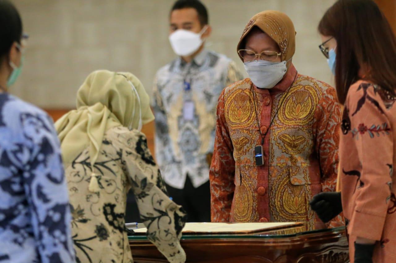 Pelantikan dan Pengukuhan Pejabat di Lingkungan Kementerian Sosial RI