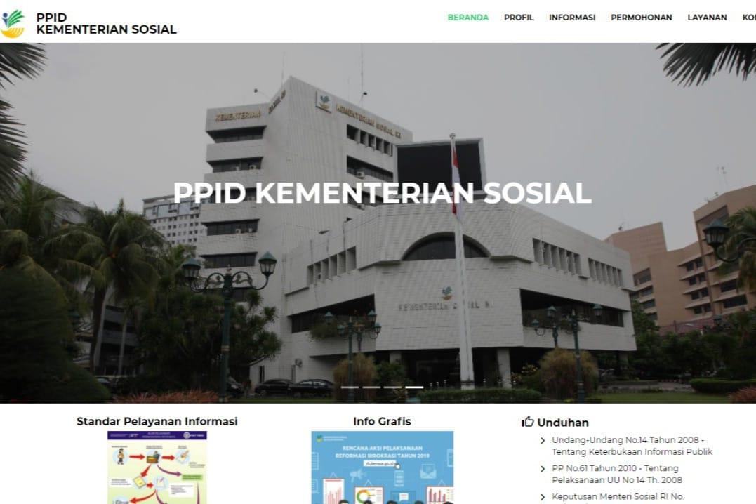 PPID Kementerian Sosial Hadir Berikan Ruang Bagi Warga Dapatkan Informasi