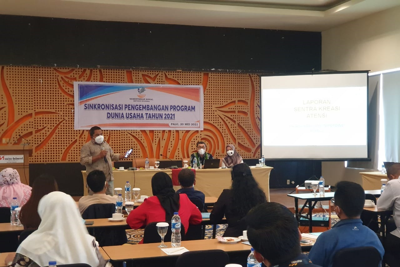 Kemensos Dorong Dunia Usaha Sinkronisasikan Program CSR di Palu