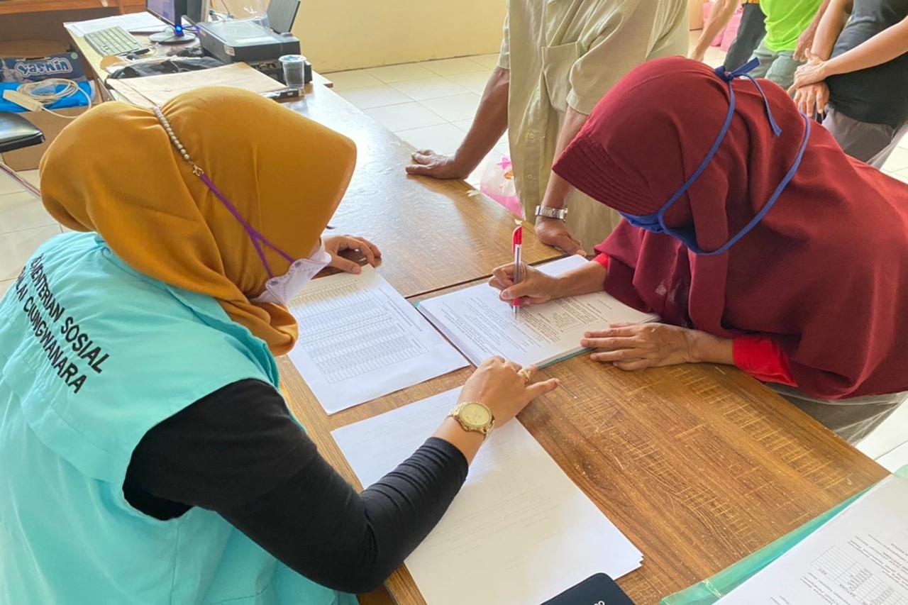Kemensos Laksanakan Respon Kasus Korban Banjir di Kota Bogor