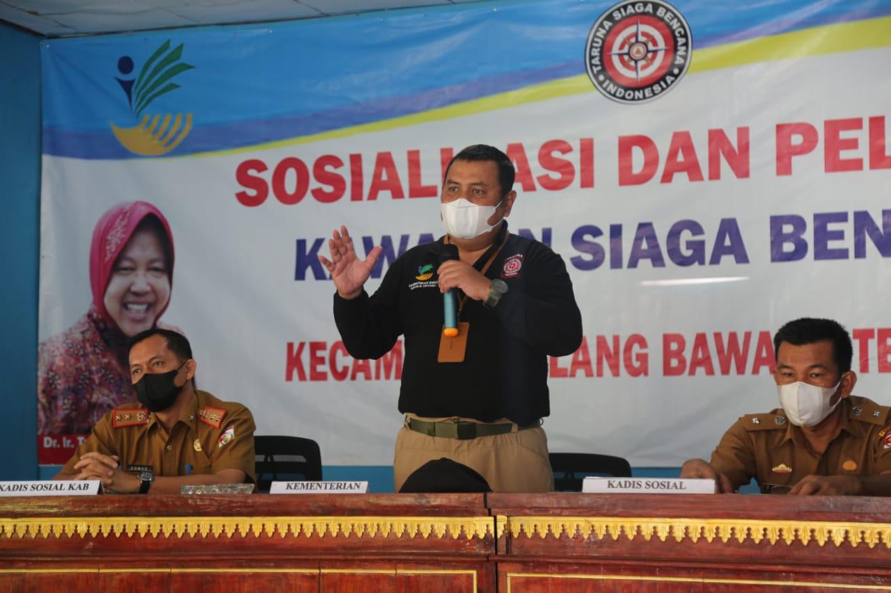 Sosialisasi dan Pelatihan KSB di Tulang Bawang Barat