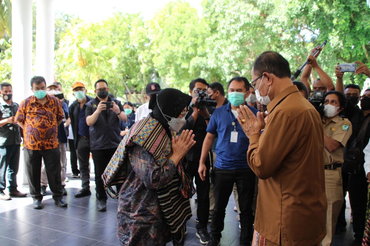 Tindak Lanjut Penyerahan Santunan Ahli Waris di Provinsi NTT