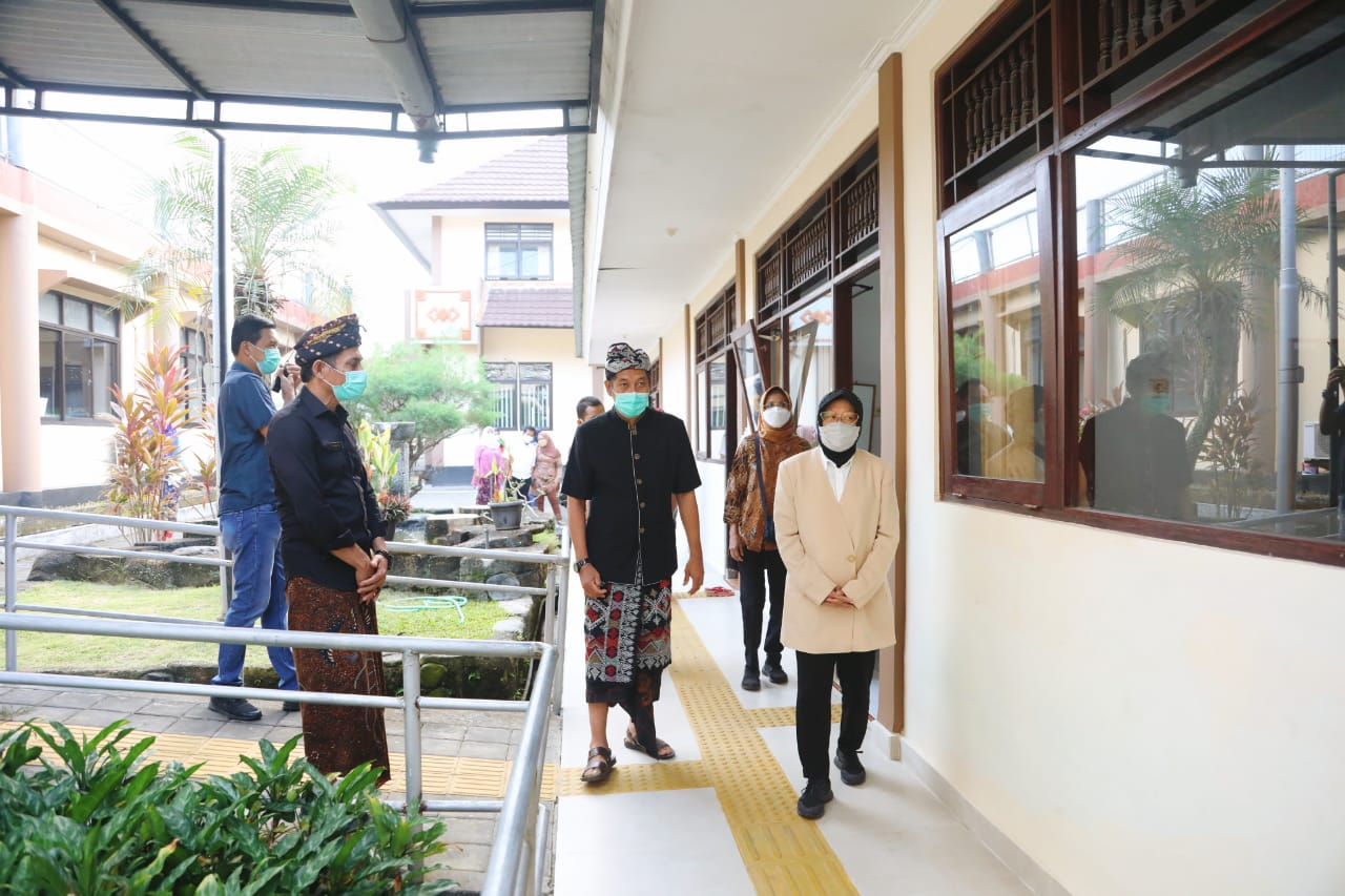 Mensos Kunjungi Balai Netra Mahatmiya Bali