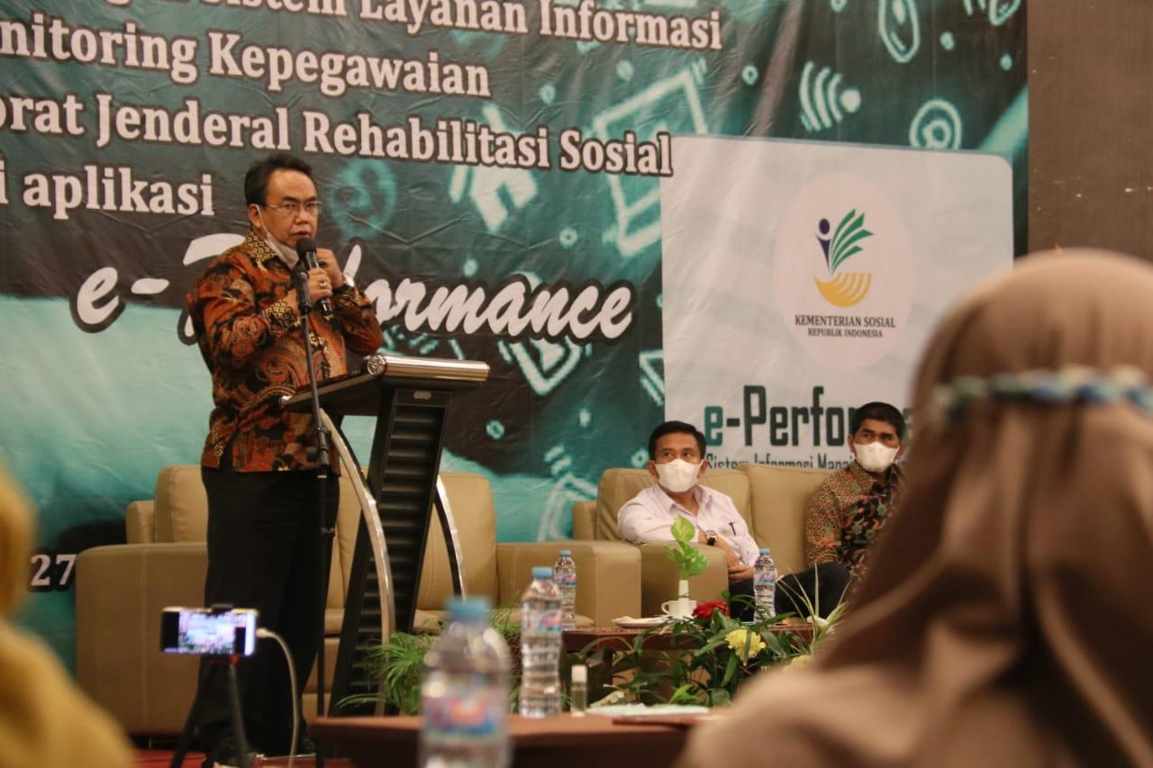 Ditjen Rehsos Siap Terapkan e-Performance untuk Kinerja Lebih Baik